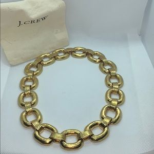 J. Crew necklace gold chain necklace